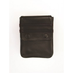 Mister B Leather Wallet for Harness Black Black portafoglio per harness o per bracciale avambraccio bicipite