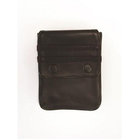 Mister B Leather Wallet for Harness Black Black portafoglio per harness o per bracciale avambraccio bicipite