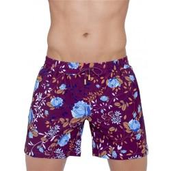2Eros Rosaceae Swimshorts Midnight Rose boxer calzoncini costume da bagno