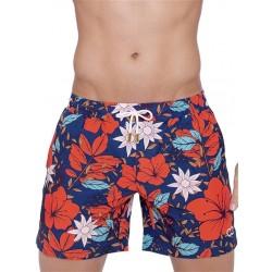 2Eros Print Swimshorts Tahiti boxer calzoncini costume da bagno
