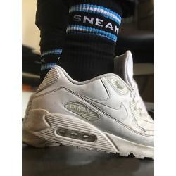 Sneak Freaxx Black Edition #2 Socks Black One Size calze sportive nere con scritta 'SneakFreaxx'