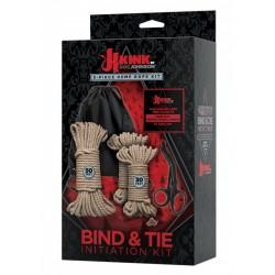 Kink Bind & Tie Kit 5 Pcs Hemp Rope kit di 5 pezzi per s/m bondage