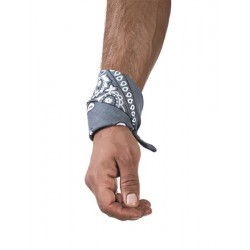 Hanky Grey bandana grigio bondage