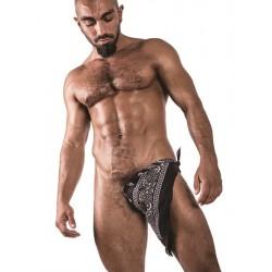 Hanky Black bandana nero s/m