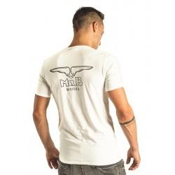 Mister B T-shirt White cotone bianco