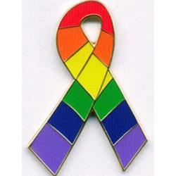 Pin Rainbow Triangle Small minispilla gay pride rainbow arcobaleno