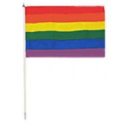 Regenbogenflagge Rainbow Flag 30 x 45 cm bandiera arcobaleno