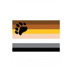 Sticker Bear Flag adesivo gay bears orsi pride (12 pz. adesivi)