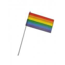 Gay Pride Rainbow Paper Flag bandierina arcobaleno con bandiera di carta stampata