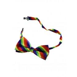 Rainbow Bowtie Gay Pride Arcobaleno fiocchetto papillon rainbow gay pride arcobaleno