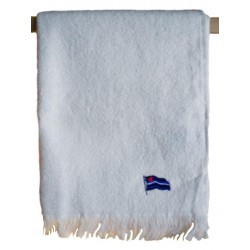 Leather Flag Towel White 40 x 66 cm. asciugamano leather gay
