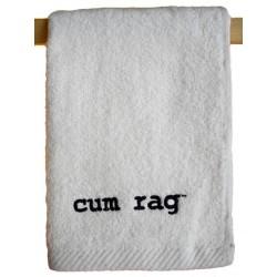 Cum Rag Towel Small White 28 x 43 cm. asciugamano
