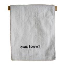 Cum Towel Small White 40 x 66 cm. asciugamano bianco per dopo il sesso