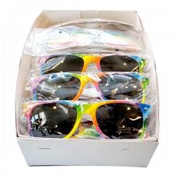 Gay Pride Rainbow Sunglasses 20 Pcs. 2 Styles 10 Pcs. Each confezione offerta con 20 occhiali di 2 diversi modelli (10+10)