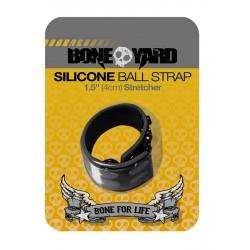 Boneyard Silicone Ball Stretcher Black in silicone