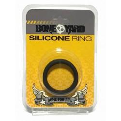 Boneyard Silicone Ring Black cockring in silicone