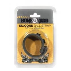 Boneyard Silicone Ball Stretcher Grey in silicone