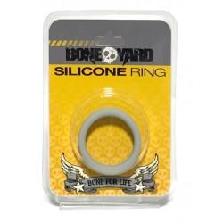 Boneyard Silicone Ring Grey cockring in silicone