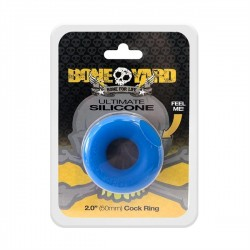 Boneyard Ultimate Silicone Ring Blue di cockring in silicone blue