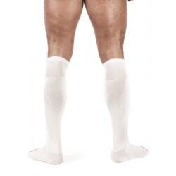 Mister B Football Socks White calzettoni