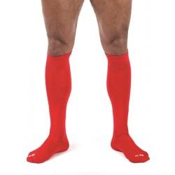 Mister B Football Socks Red calzettoni