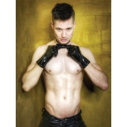 Mr Riegillio PVC Gloves guanti in PVC lucidi