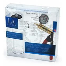 LAPD Premium Regular Cylinder Kit pompa con pressurometro  + cilindro per sviluppare il pene