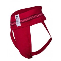 "MM Jocks Adult Supporter 3"" bike style original edition Red jockstrap sospensorio rosso"