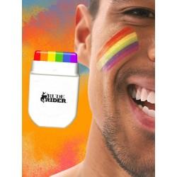 RudeRider Pride Gear Rainbow Face Paint MakeUp Set colore dell'orgoglio gay rainbow