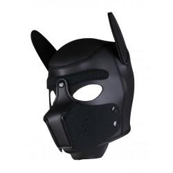 RudeRider Neoprene Puppy Hoods Black maschera cucciolo in neoprene