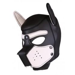 RudeRider Neoprene Puppy Hoods White maschera cucciolo in neoprene