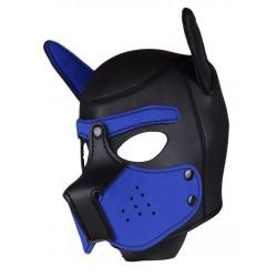 RudeRider Neoprene Puppy Hoods Blue maschera cucciolo in neoprene