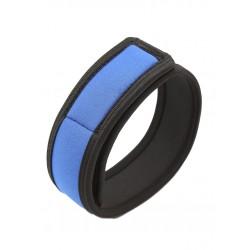 RudeRider Neoprene Puppy 2 Biceps Straps Blue coppia di 2 bracciali per bicipiti in neoprene
