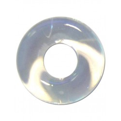 RudeRider Fat Stretchy Cock Ring Clear cockring & ballstretcher
