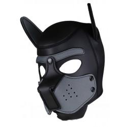 RudeRider Neoprene Puppy Hoods Grey maschera cucciolo in neoprene