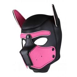 RudeRider Neoprene Puppy Hoods Pink maschera cucciolo in neoprene