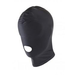 RudeRider Elastane Hood Open Mouth Black maschera 100% elastane