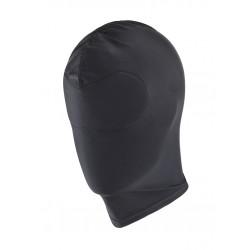 RudeRider Elastane Hood Total Cover Black maschera 100% elastane