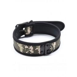 RudeRider Neoprene Puppy Collar Camo collare in neoprene