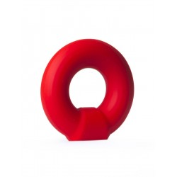 RudeRider Knob Silicone Ring Red cockring anello per il pene in silicone