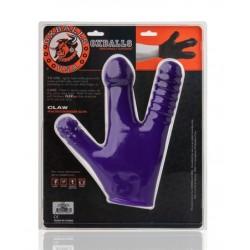 Oxballs Claw Glove Eggplant sex toys dildo tre dita