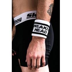 Sk8erboy Sweatband SNEAKER HEAD polsini per sudore
