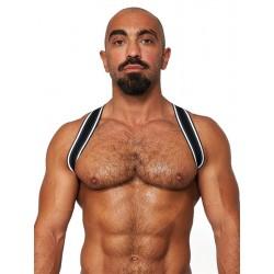 Mister B Urban Club Harness Sling Striped harness in tessuto elastico