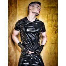 Mr Riegillio PVC T-Shirt maglietta lucida e sexy
