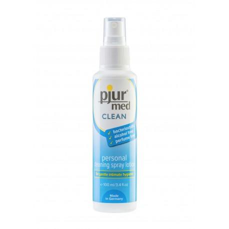 Pjur Toy Clean Spray 100 ml. garantisce un'accurata pulizia igienica dei tuoi sex toys giocattoli erotici
