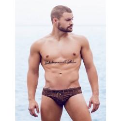 2Eros Print Swimwear Persia Swim Briefs slip costume da bagno