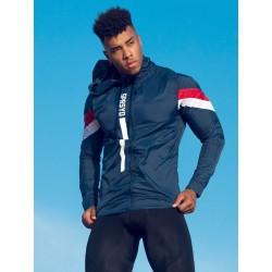 Supawear Breeze Jacket Blue giacca a vento con cappuccio