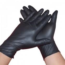 Box Black Nitrile Gloves 100 Pcs guanti in nitrile per fisting fist fucking varie misure
