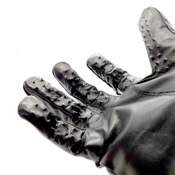 Vampire Gloves leather guanti in pelle chiodati
