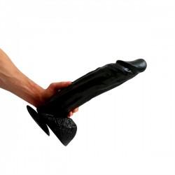 HUNG'R Dildo Goliath Black (14 inch) 36.00 cm. dildo XXL fallo realistico Hung System